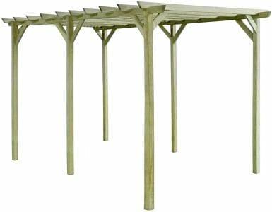 pèrgolas de madera baratas